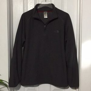 Men's North Face pullover grey sweater Med (z)